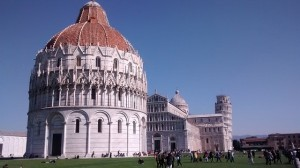 Field of Miracles, The Dome and Baptistery